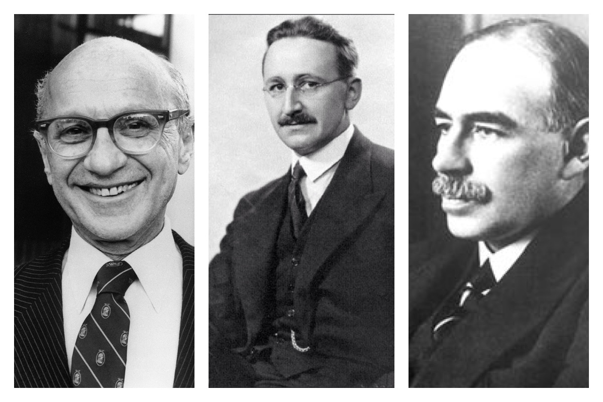 friedman vs keynes Who was milton friedman japan in the nineties offered a fresh opportunity to test the views of friedman and keynes regarding the effectiveness of monetary policy.