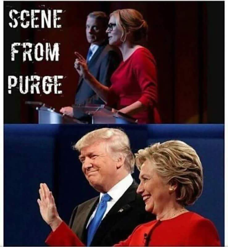 donald trump hillary clinton influenced purge election year
