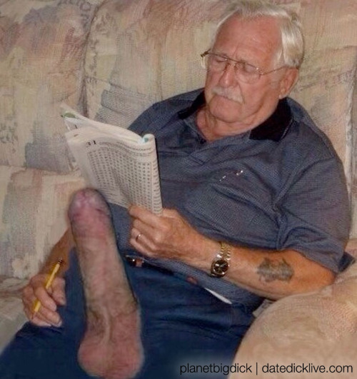 Old men with big dicks tumblr