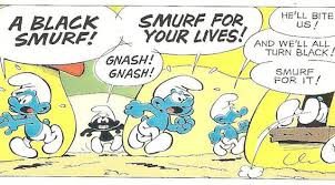 gender bias in the smurfs This study is an update of research done primarily in the 1970s on gender   teachy-preachy such as smurfs and the little mermaid these cate.