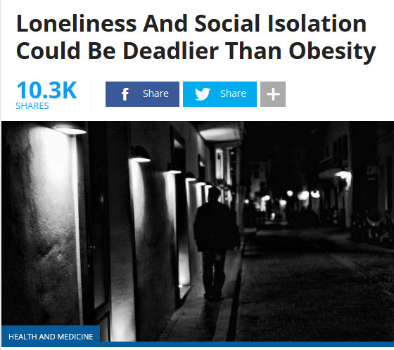 social isolation and loneliness
