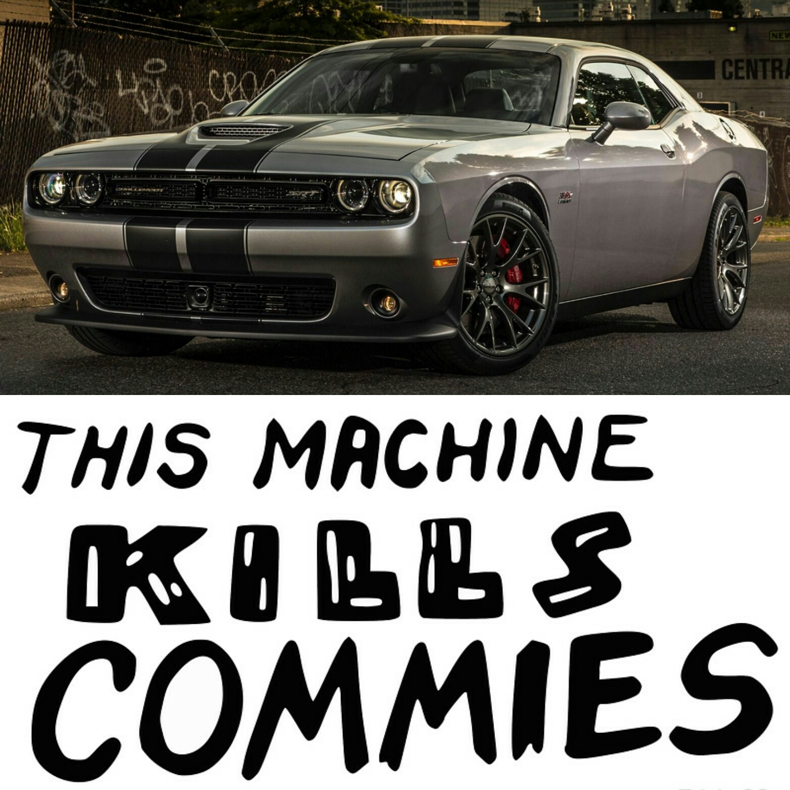 this machine kills commies