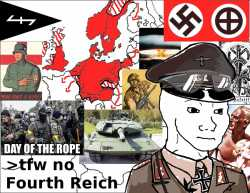 the looming threat of a fourth reich The nobel prize-winning author vs naipaul has warned that islamic state are the most potent threat to the world since the nazis in a hard-hitting article in today's mail on sunday, the revered novelist brands the extremist muslim organisation as the fourth reich, saying it is comparable to adolf hitler's regime in its fanaticism and.