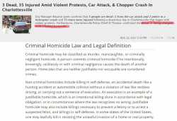 manslaughter and justified homicide States sometimes also define voluntary manslaughter as a homicide that occurs with the mistaken belief that the killing was justified.