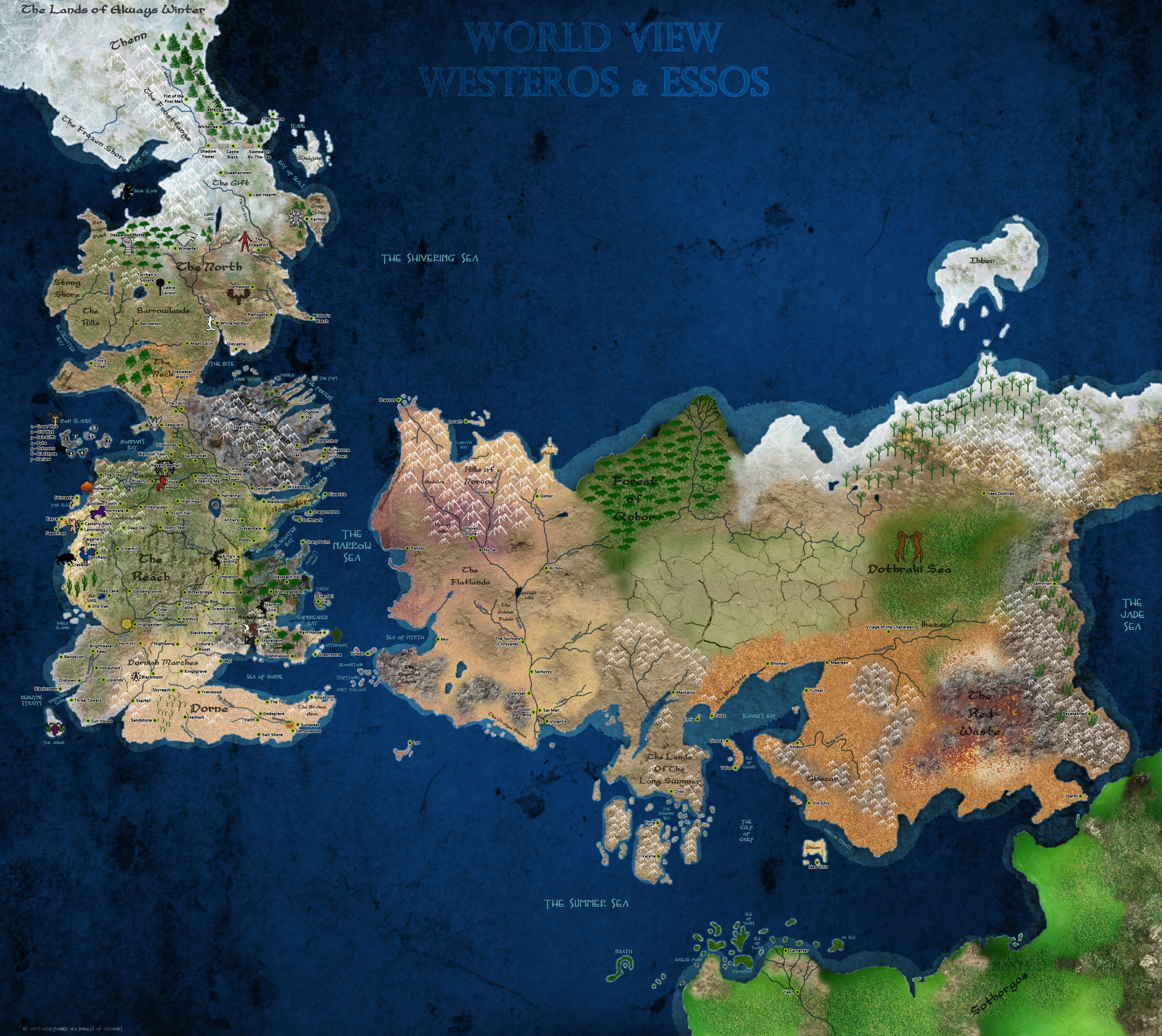 No spoilers does anyone know how accurate this map is gameofthrones noneno spoilers does anyone know how accurate this map is gumiabroncs Choice Image