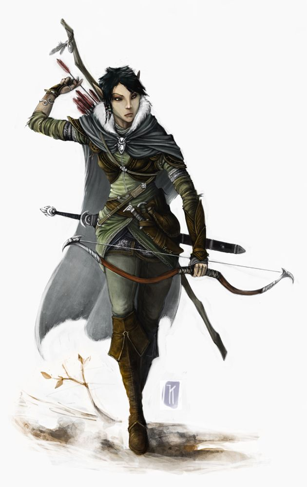D&D 5e Elf Hunter Ranger