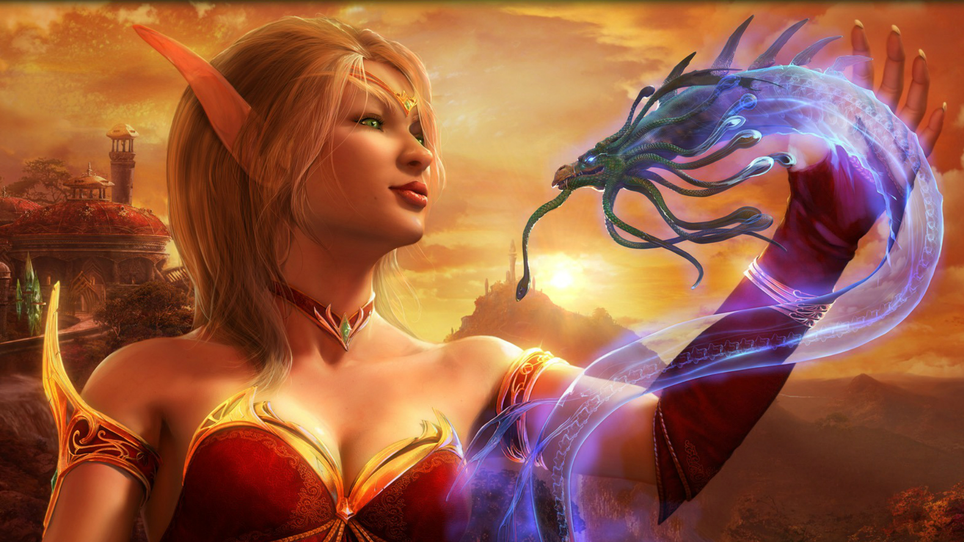 Blood elf cinematic wallpaper adult picture
