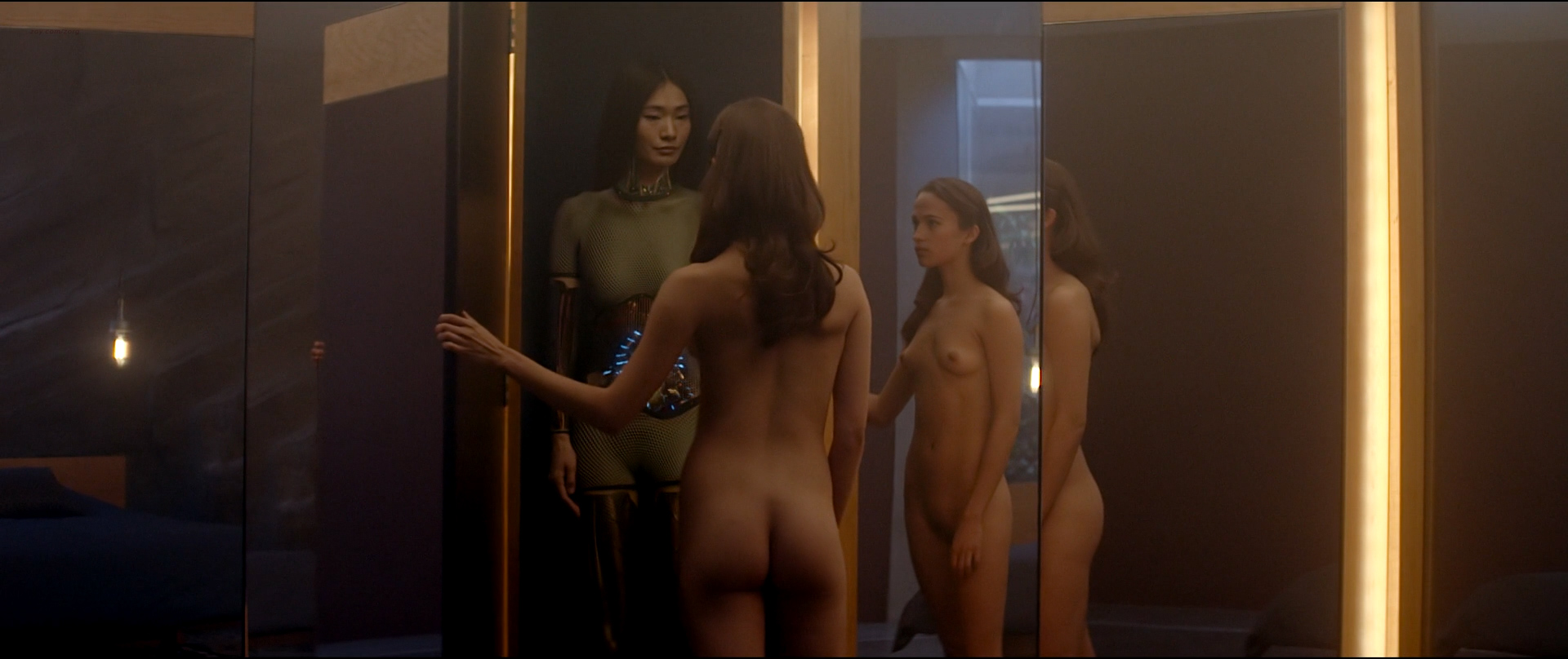 Ex machina nude girls sexy images