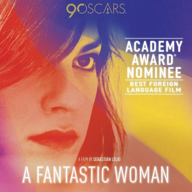 A Fantastic Woman wins best foreign language film at