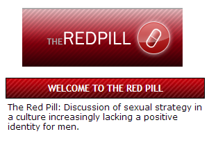 the REDPILL site header with title and description