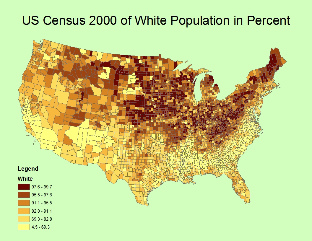 Pol Politically Incorrect Thread 161329533 - Whitest Plaaes In Us Map