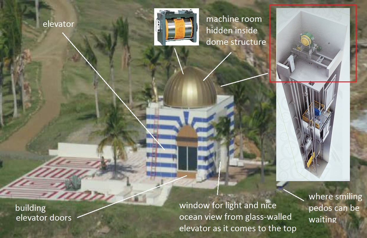 Image result for jeffrey epstein island temple