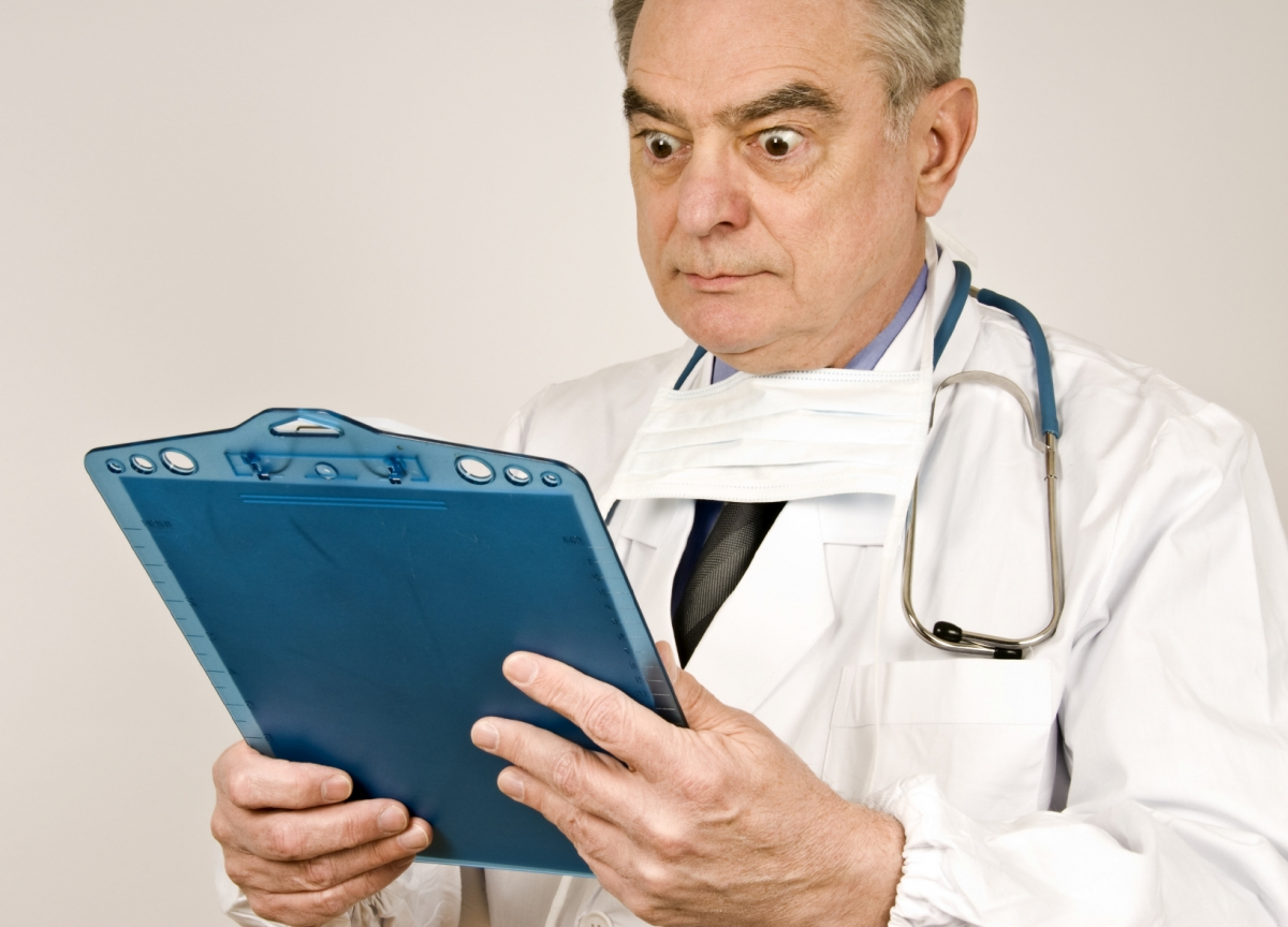 Image result for shocked doctor