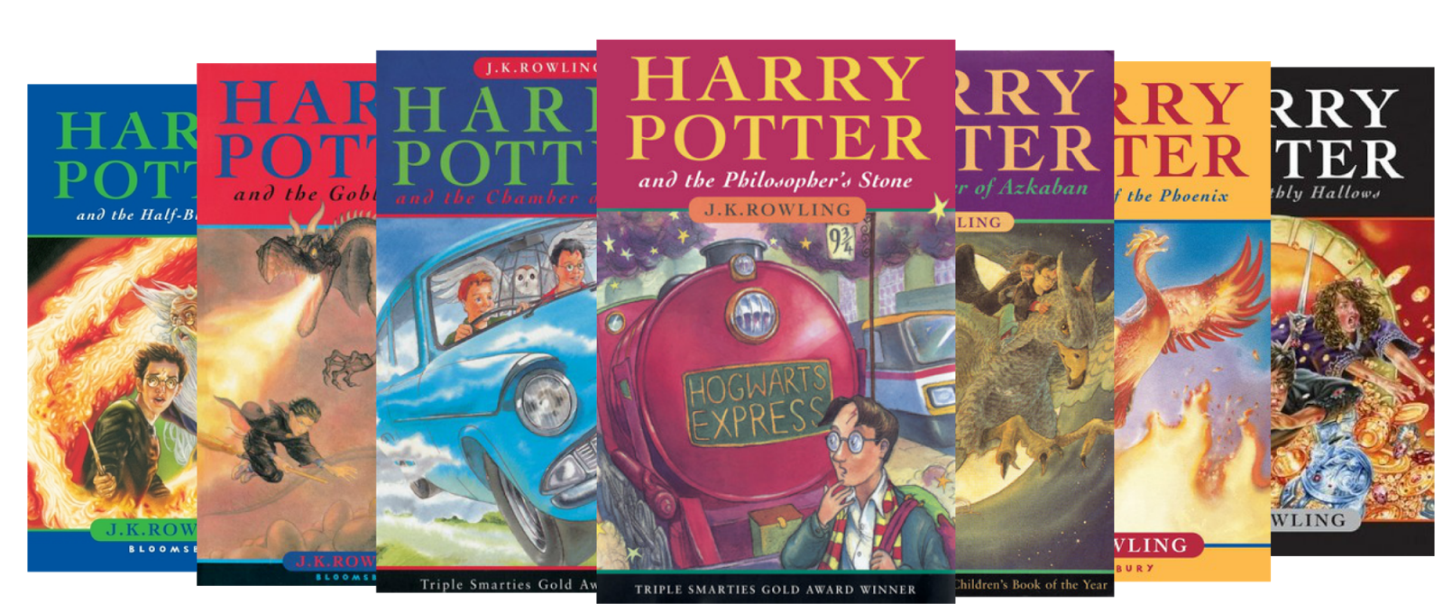 Image result for harry potter novels