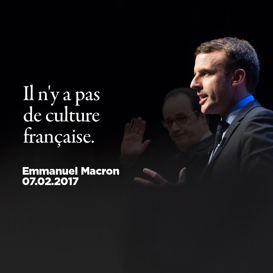 recipe: macron french have no culture [7]