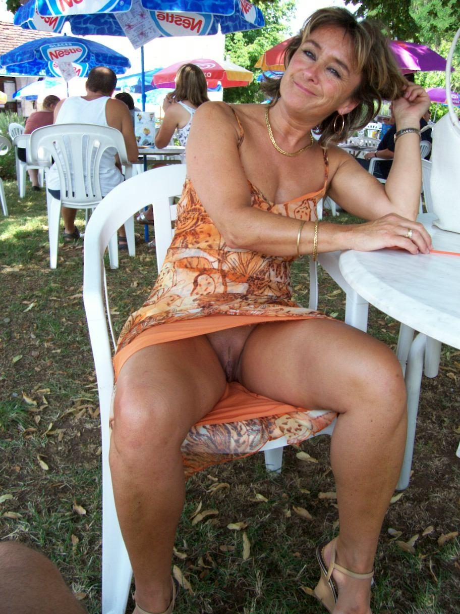 milf upskirt Drunk flashing