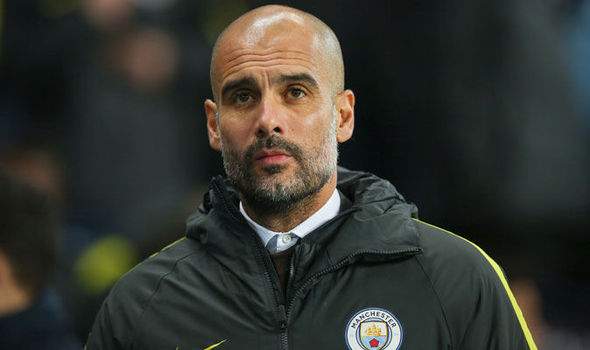 Image result for Pep Guardiola 590 x 350